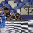 Dal dito di Insigne alla telecamera al balletto di Osimhen: le emozioni di Napoli-Cagliari 2-0 [FOTOGALLERY CN24]