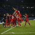 Dalla festa russa al faccia a faccia tra Spalletti e l'arbitro: le emozioni di Napoli-Spartak Mosca 2-3 [FOTOGALLERY CN24]