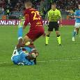 Scontro Osimhen-Mancini, azzurro punito col fallo ma nessuna sanzione disciplinare [FOTO]