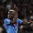 Roma-Napoli 0-0, palo per Osimhen!