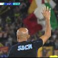 """Il significato della mano alzata da Spalletti: """"Ecco cosa volevo dire"""""""