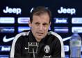 """Juventus, Allegri: """"Il campionato è un nostro obiettivo, è difficile farsi un'idea sul perché perdi ai rigori contro Napoli..."""""""