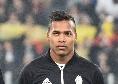 Juventus, Pirlo perde il primo titolare: infortunio per Alex Sandro, assente contro la Sampdoria