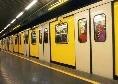 Napoli-Juventus, corse straordinarie della Metro per la partita