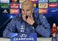 """Real Madrid, Zidane annuncia: """"James è in forma, sono felice di averlo in squadra. Lui è contento di essere qui"""""""