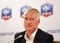 """Deschamps dice 'no' alla Juve: """"Il mio futuro è la Francia, non c'è nessuna possibilità"""""""