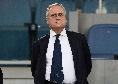 """Lotito: """"Col Napoli risultato ingiusto: una serie di gol annullati, lo scivolone di Immobile..."""""""