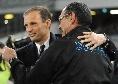 """Allegri: """"Consigli per Sarri alla Juventus? Assolutamente! Mi aspetto un bellissimo campionato e sarò curioso di vederlo"""""""