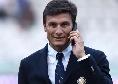 """Inter, Zanetti su Lozano: """"Alla lunga verranno fuori le sue qualità. Presto sarà decisivo in A"""""""