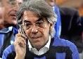 """Inter, l'ex presidente Moratti: """"Il rigore ha rovinato la partita. Ferisce il sentimento di chi va vedere le gare"""""""