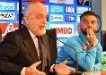 """De Laurentiis: """"Insigne non può uscirsene con atteggiamenti di sfida con Ancelotti, risolva i suoi problemi..."""""""