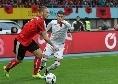 Albania sconfitta in casa dalla Turchia: Hysaj in campo per tutto l'arco del match