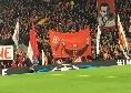 Liverpool-Napoli, Anfield è tutto esaurito: lo stadio sarà una bolgia questa sera
