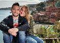 """Mertens, parla la moglie Kat: """"Il mio futuro con Dries? Abbiamo una casa in Belgio, ma una parte del nostro cuore rimarrà per sempre in Italia"""""""