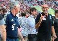 """Europa League, Ancelotti: """"Finale contro Sarri? Sarebbe bellissimo, sarebbe contento anche Maurizio magari!"""""""