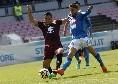 Opta - Il Napoli ha vinto 6 delle ultime 7 contro il Toro segnando almeno 2 gol a partita