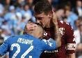 Napoli-Torino, i precedenti: l'ultima volta al San Paolo finì in pareggio