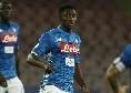 Sky – Il Milan ha chiesto Diawara al Napoli, non convincono le modalità: gli azzurri chiedono 30-35 milioni