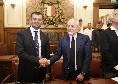"""Bari, il sindaco Decaro: """"Con De Laurentiis spesso ci siamo 'appiccicati' ma con rispetto. Gli ho promesso che prima o poi batteremo il Napoli"""""""