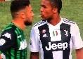 """Juve, Douglas Costa: """"Sputo a Di Francesco? Mai capitato, ero fuori di me"""""""