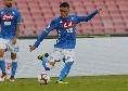 Napoli in vantaggio, primo gol stagionale di Callejon: azione rugbistica degli azzurri