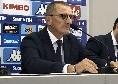 """Empoli, Andreazzoli ricorda la vittoria col Napoli: """"I tifosi ci hanno sostenuto, sono stati fondamentali"""""""