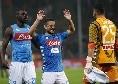 Nessuno come il Napoli: quattro le rimonte, sette reti con giocatori subentrati dalla panchina [FOTO]