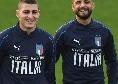 Tuttosport - Buone notizie per il Napoli, Mancini lascerà tornare Insigne a casa già dopo la gara con il Portogallo