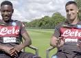 Intervista doppia Ounas-Diawara: chi ha più stile? [VIDEO]