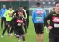 Riprendono gli allenamenti a Castelvoltuno: in gruppo anche Meret e Younes [VIDEO]