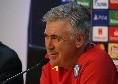 """Ancelotti: """"Il regalo di De Laurentiis? E' stato Verdi, dalla prossima sarà convocato"""""""