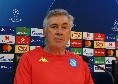 """Ancelotti: """"Meret si è allenato regolarmente, la mia sarà una scelta tecnica"""""""
