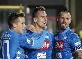 Zielinski si propone per una maglia dal 1', a Cagliari può essere sacrificato Fabián! In attacco Ancelotti ha una tentazione