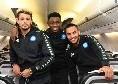Scatta la missione Anfield, il Napoli è in partenza per Liverpool [FOTO]