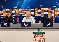 """Ancelotti in conferenza: """"Avremo 40milioni di tifosi a supportarci. Arbitro? Se fa danni è facile andar fuori. Anfield non ci fa paura, certe gare ci eccitano. Formazione? Neanche io la so!"""" [VIDEO CN24]"""