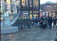Tifosi azzurri a Liverpool, cori e gioia: saranno scortati dalla polizia fino ad Anfield Road [VIDEO CN24]