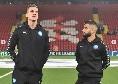 Il Napoli ad Anfield: Insigne in campo con Milik, Mertens e Ancelotti  negli spogliatoi[FOTO]