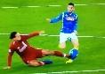 Fallaccio di Van Dijk su Mertens, immagini tremende ad Anfield [VIDEO]