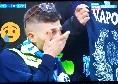 Salah porta in vantaggio il Liverpool, tifosi azzurri in lacrime ad Anfield [VIDEO]