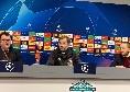 """Klopp in conferenza: """"Fiero dei miei ragazzi, mai visto un pressing così. Il Napoli può fare bene in Europa League. Parata di Alisson straordinaria"""" [VIDEO]"""
