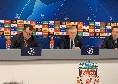 """DIRETTA VIDEO - Ancelotti in conferenza: """"In Europa League vogliamo arrivare fino in fondo. Ripercussioni? Ce la giochiamo contro chiunque"""""""