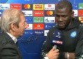 "Koulibaly a Sky: ""Credevamo di potercela fare anche se c'era un po' di timore, ora daremo tutto in Europa League"" [VIDEO]"