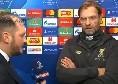"""Liverpool, Klopp: """"Siamo stati superiori al Napoli su tutto, atmosfera speciale. Mai visto gli azzurri così in difficoltà, Alisson incredibile"""" [VIDEO]"""