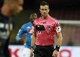 Cagliari-Napoli, fischia Doveri. Il derby di Torino assegnato al campano Guida