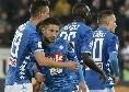 La magia di Milik e l'abbraccio consolatorio a Mertens: tutti gli scatti di Cagliari-Napoli [FOTOGALLERY CN24]