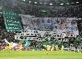 """""""Diversi nei colori, uniti nei valori"""": gli ultras dello Sporting Lisbona rendono omaggio alle tifoserie italiane, presenti anche i Fedayn della Curva B [VIDEO]"""