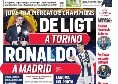 """Prima Pagina Corriere dello Sport: """"De Ligt a Torino, Ronaldo a Madrid"""" [FOTO]"""