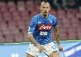 Sky - Infortunio Hamsik, non ce la fa per la Lazio: possibile rientro contro il Milan