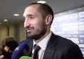 """Juventus, Chiellini insaziabile: """"Felici per la Supercoppa, ma vogliamo continuare a vincere"""""""