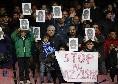 """SSC Napoli ancora contro il razzismo: """"Che """"buu"""" diventi un messaggio di unità"""" [FOTO]"""